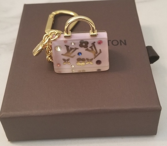 d77e89b7134d Louis Vuitton Accessories - Louis Vuitton Speedy Inclusion Key Ring Bag  Charm